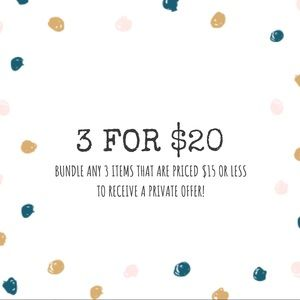 Sweaters - Bundle 3 for $20!!